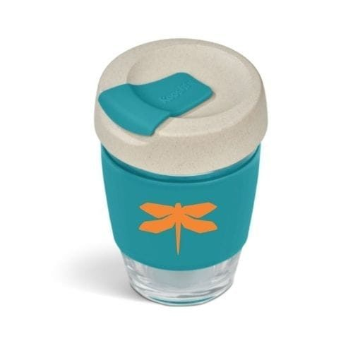 dragonfly tri kooshty travel mug turquoise
