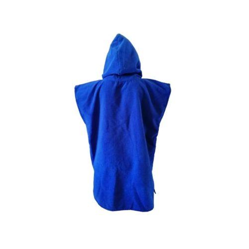 dragonfly tri towel poncho back blue