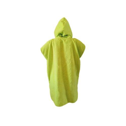 dragonfly tri towel poncho back green