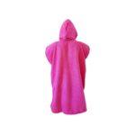dragonfly tri towel poncho back pink