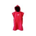 dragonfly tri towel poncho front red
