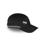 running cap black